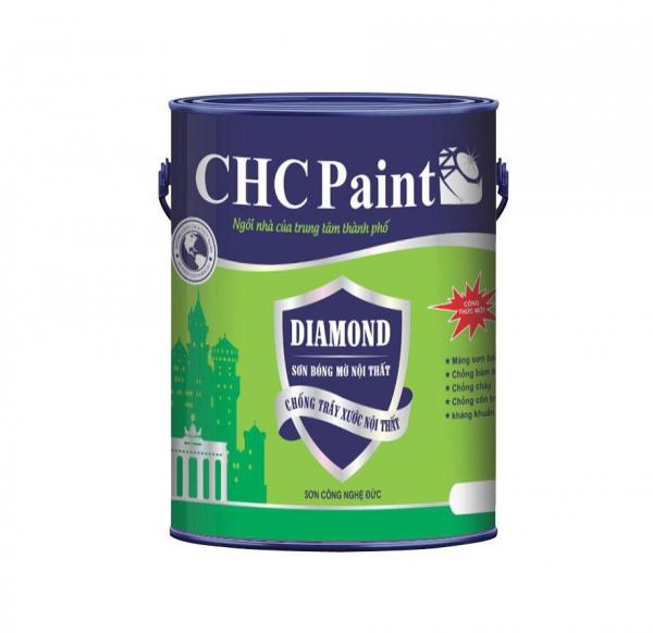 CHC PAINT - DIAMOND SƠN BÓNG MỜ NỘI THẤT CAO CẤP 5 LÍT