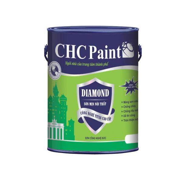 CHC PAINT - DIAMOND SƠN MỊN NỘI THẤT CAO CẤP 5 LÍT
